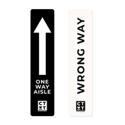 Directional Navigator Blade - One Way Aisle