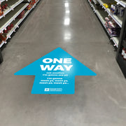 Large Arrow Nonslip Floor Graphic