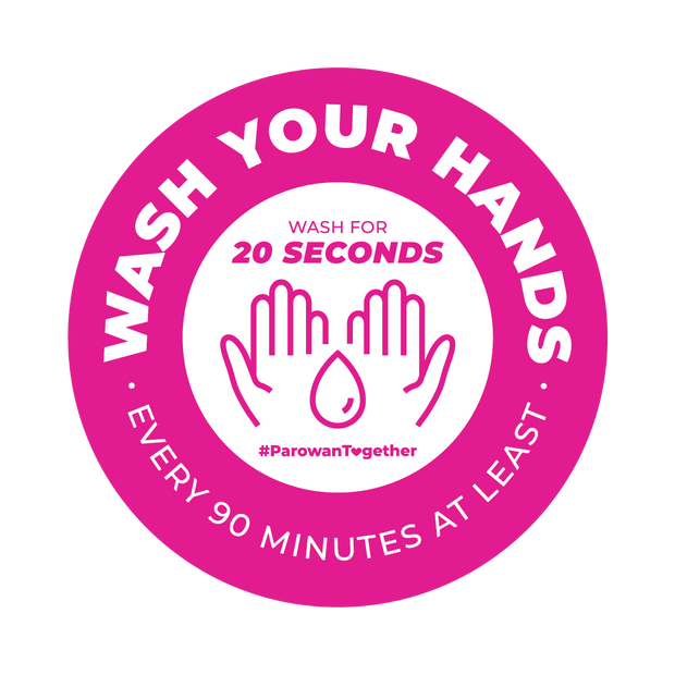 Wash Your Hands Vinyl Decal