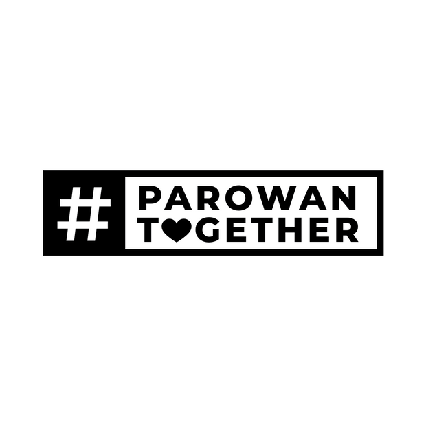 #Together Rectangular Decal