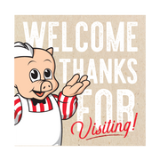 """Welcome"" Hanging Sign"