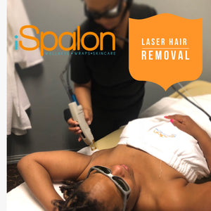 UnderArm Laser Hair Removal- Package of 6