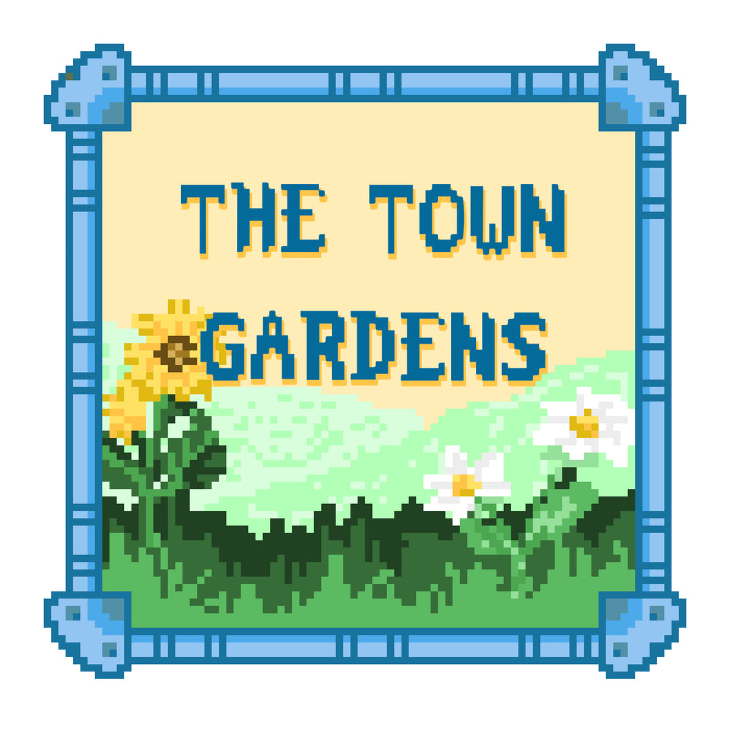 The Town Gardens - 3 Piece Chiptune Set