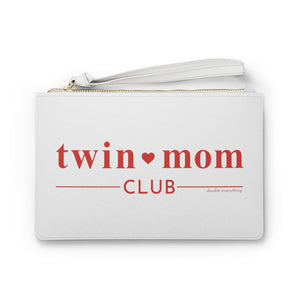 Twin Mom Club Clutch Bag