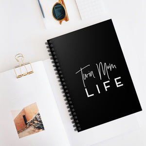 Twin Mom Life Spiral Notebook