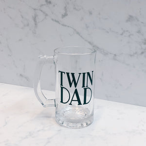 Twin Dad Beer Mug