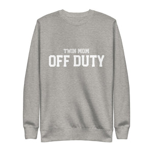 Twin Mom Off Duty Fleece Pullover