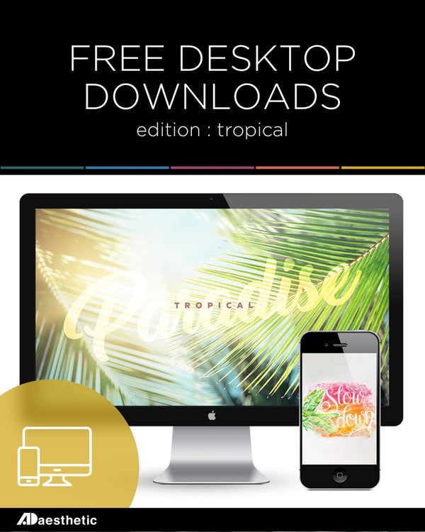 FREE Desktop Downloads: Tropical