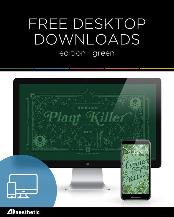 FREE Desktop Downloads: Green