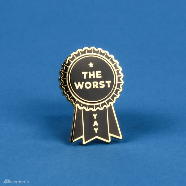 Awful Award Enamel Lapel Pin
