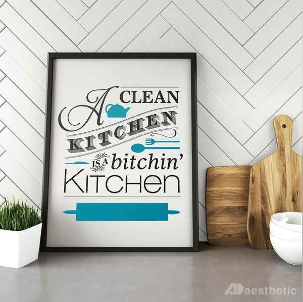 Bitchin' Kitchen Poster