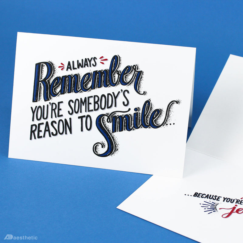 You're A Joke Greeting Card