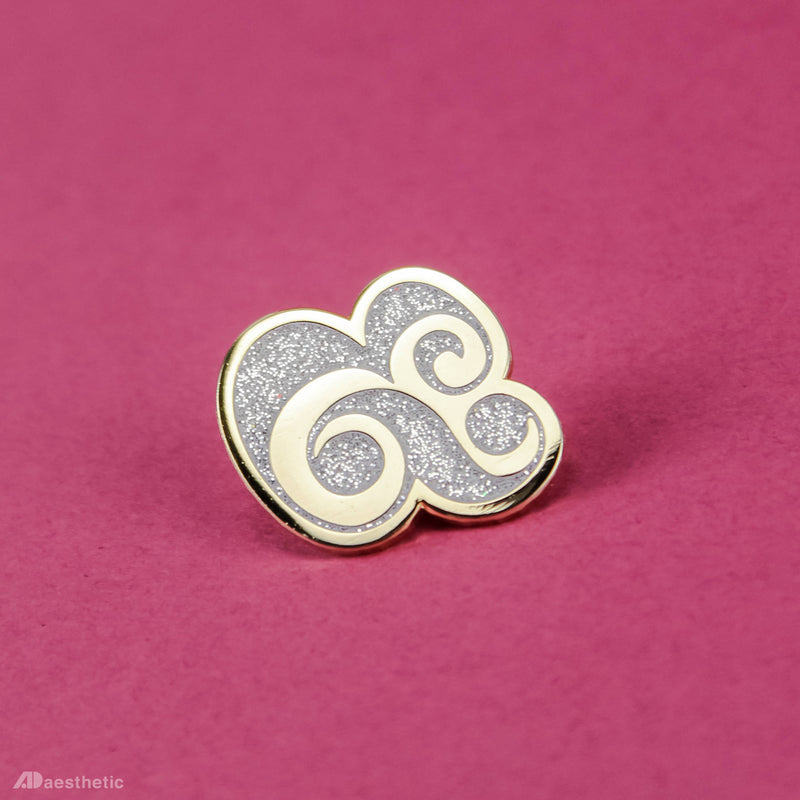 Glampersand Enamel Lapel Pin