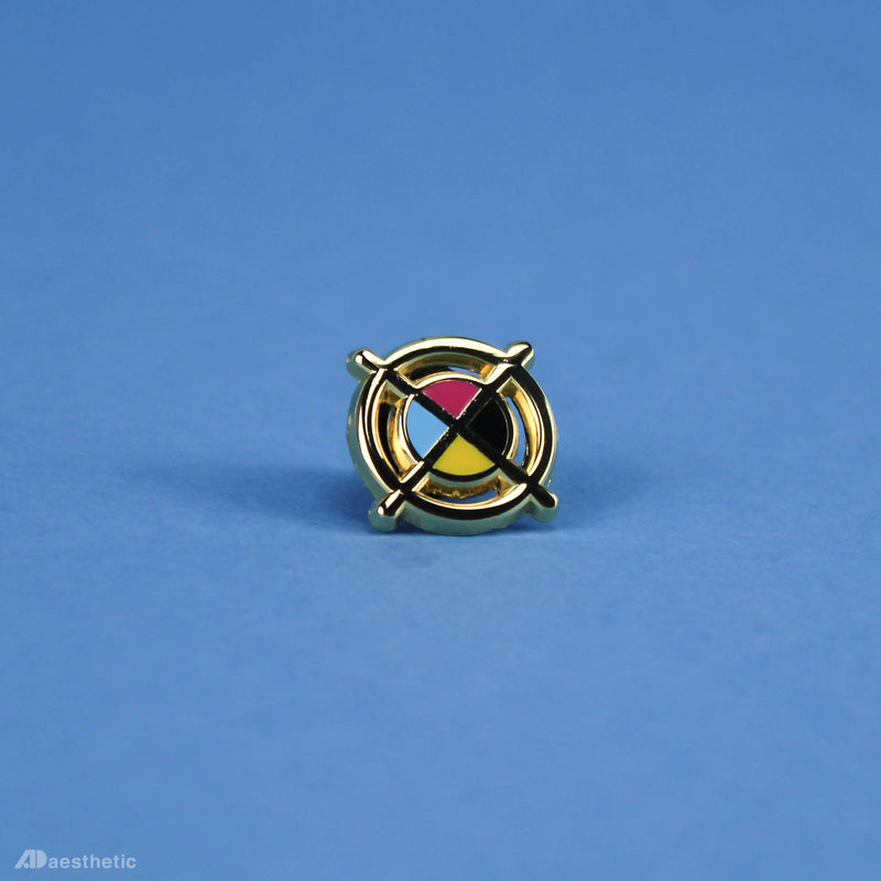 Registration Mark Enamel Lapel Pin