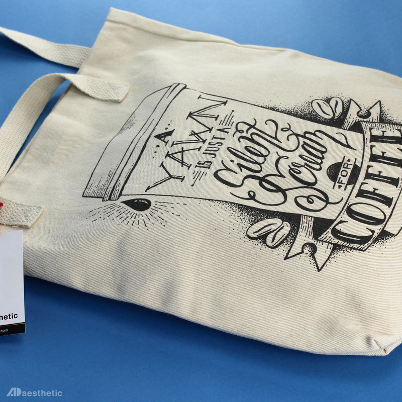 Scream for Coffee Tote Bag