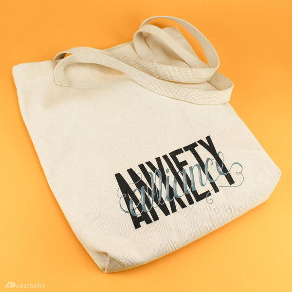 Anxiety Alliance Tote Bag