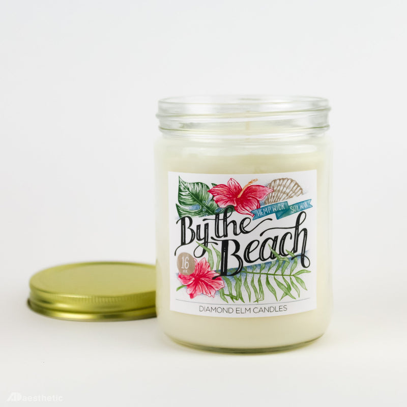By the Beach Soy Candle