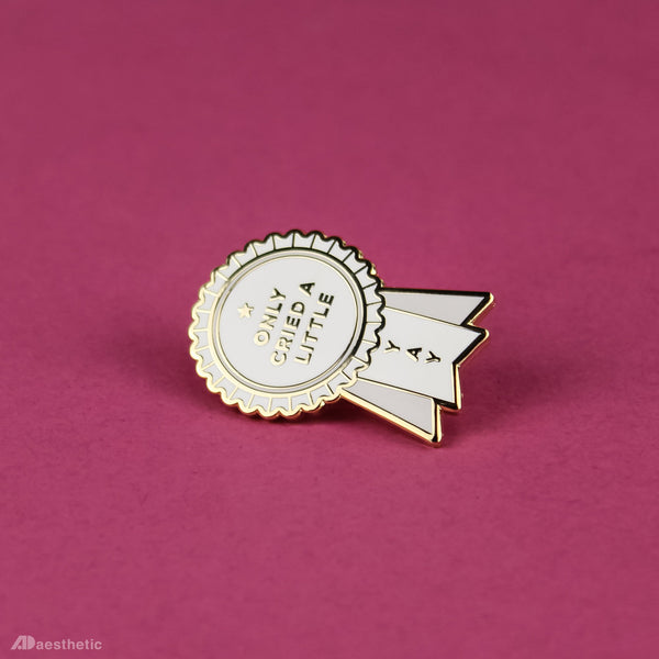 Emo Award Enamel Lapel Pin