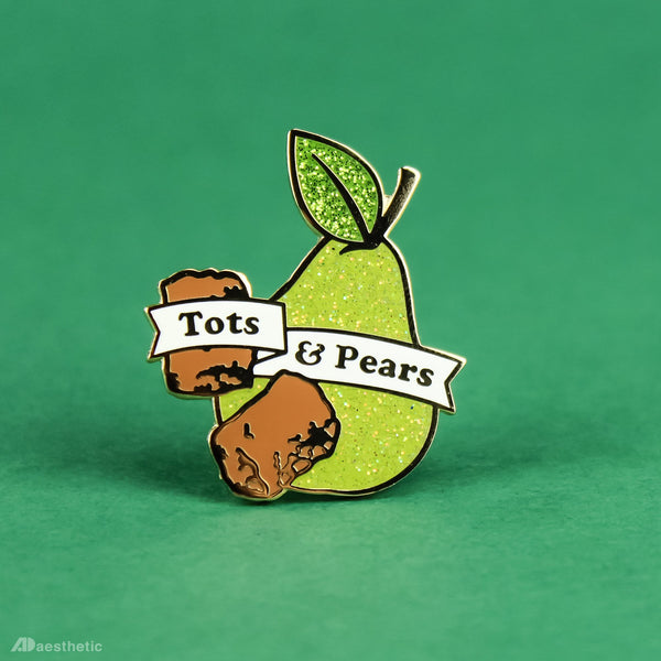 Tots and Pears Enamel Lapel Pin