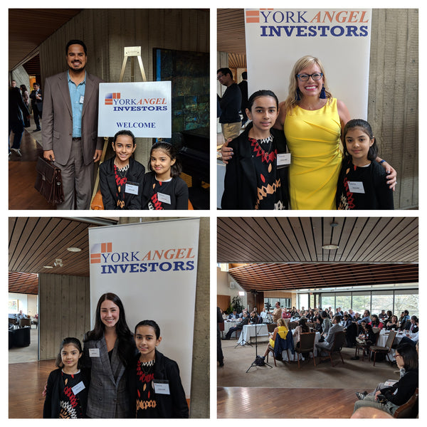 Canada's Youngest Social Entrepreneurs at York Angel Investor event