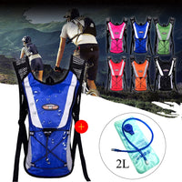 Climbing Hydration Backpack  2L Water Bladder Bag