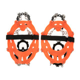 1 Pair 14-Teeth 2 Color Ice Gripper Cleats - MyClimbingGear.com