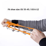 8 Teeth Non-slip Claws Ice Crampons - MyClimbingGear.com