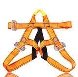 Outdoor Mountaineering Downhill Rappel Safety Belt