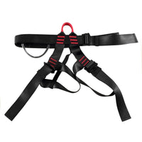 Professional Mountaineering Downhill Rappel Safety Belt