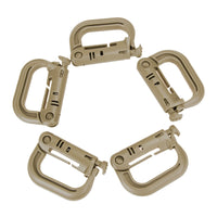 D-Ring Locking Carabiner - MyClimbingGear.com
