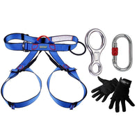 Professional Rock Climbing Rappelling Kit