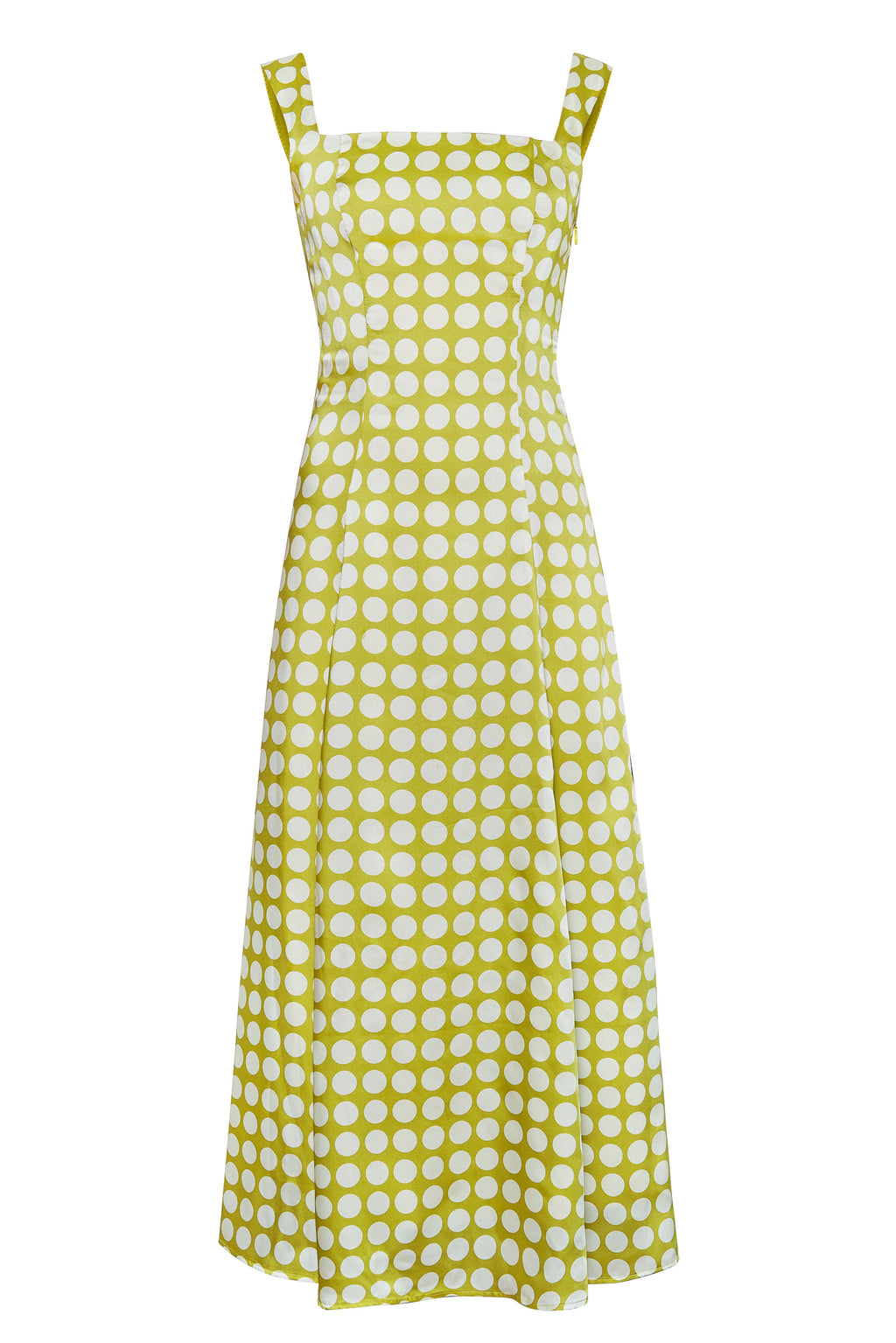 Bandana Green Polka Dress - Annie's Ibiza