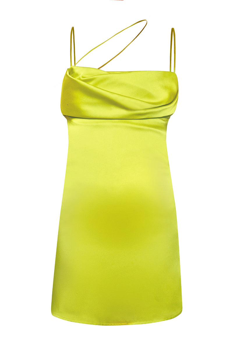 Frisco Green Mini Dress - Annie's Ibiza
