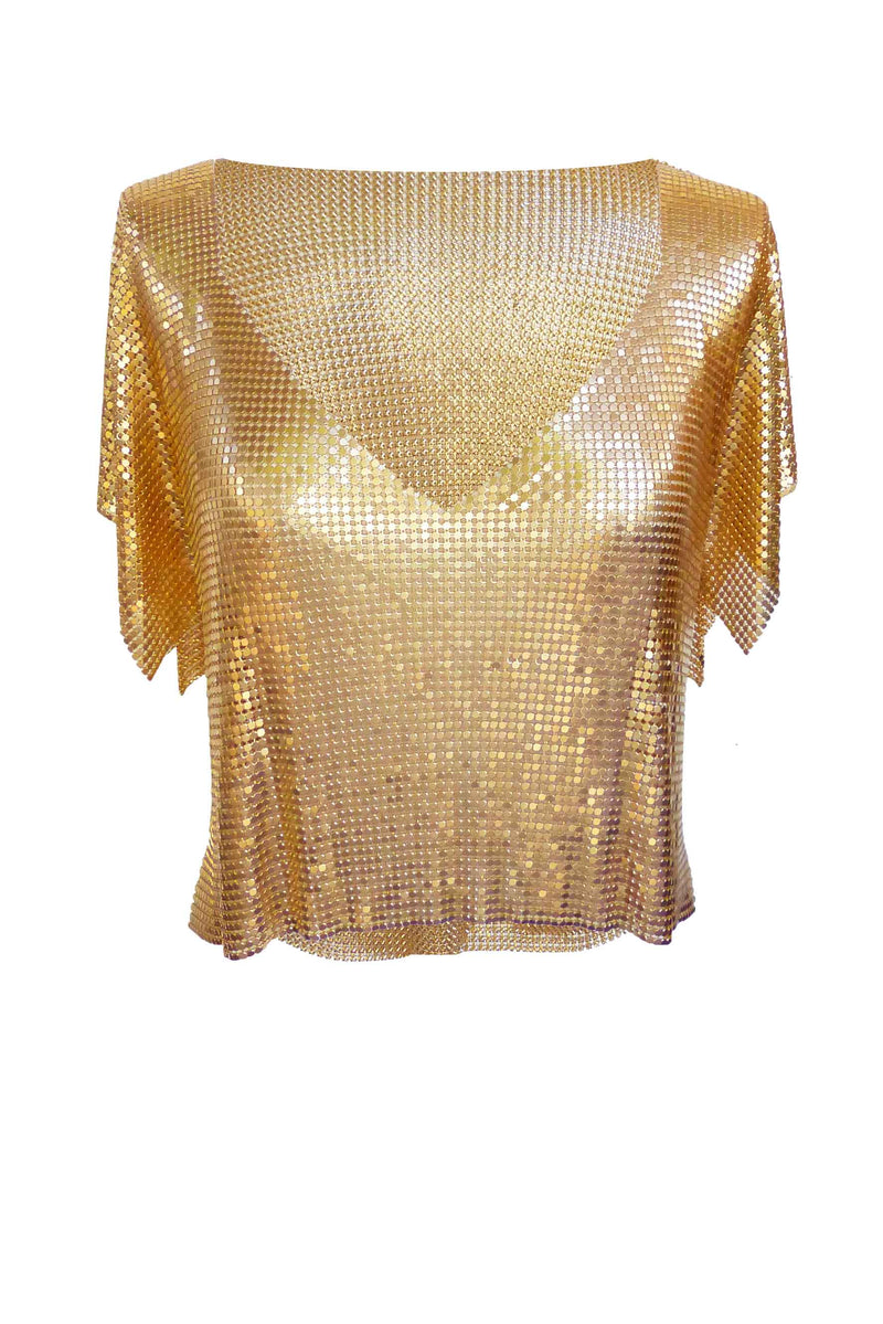Gold Gaia Top
