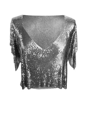 Gunmetal Gaia Top