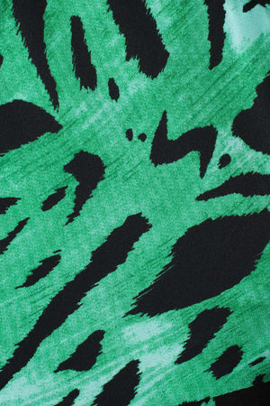 Lucy Green Tiger Stripe Dress