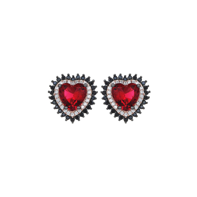Heartbreaker Studs Red