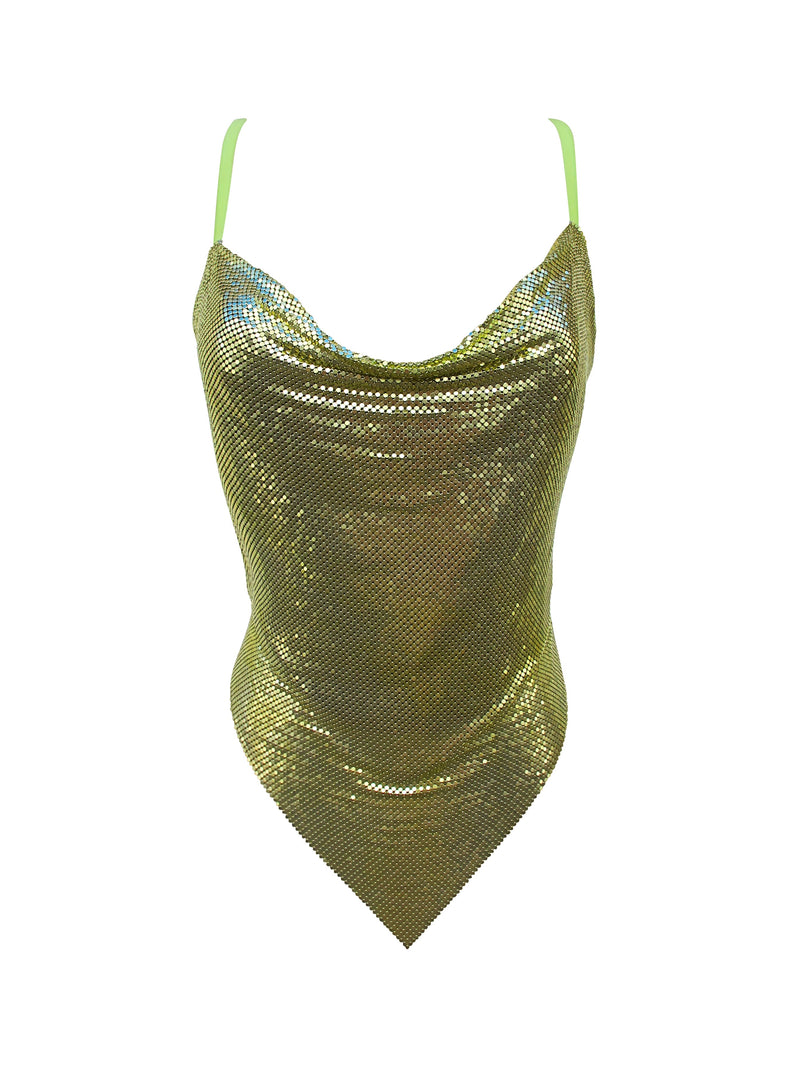 Bella Lime Top - Annie's Ibiza