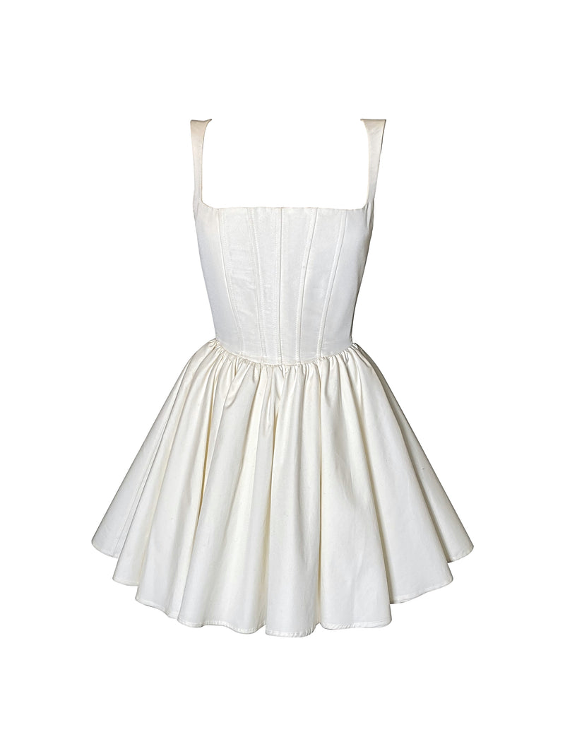 Annie Dress - White