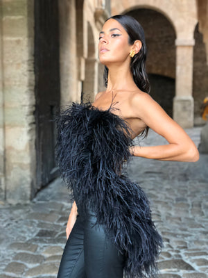 Audrey Ostrich Feather Body