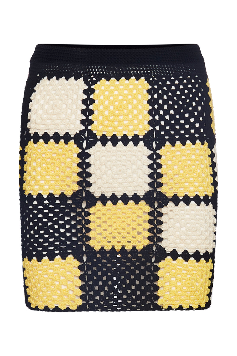 The Romy Mini Skirt- Pina - Annie's Ibiza