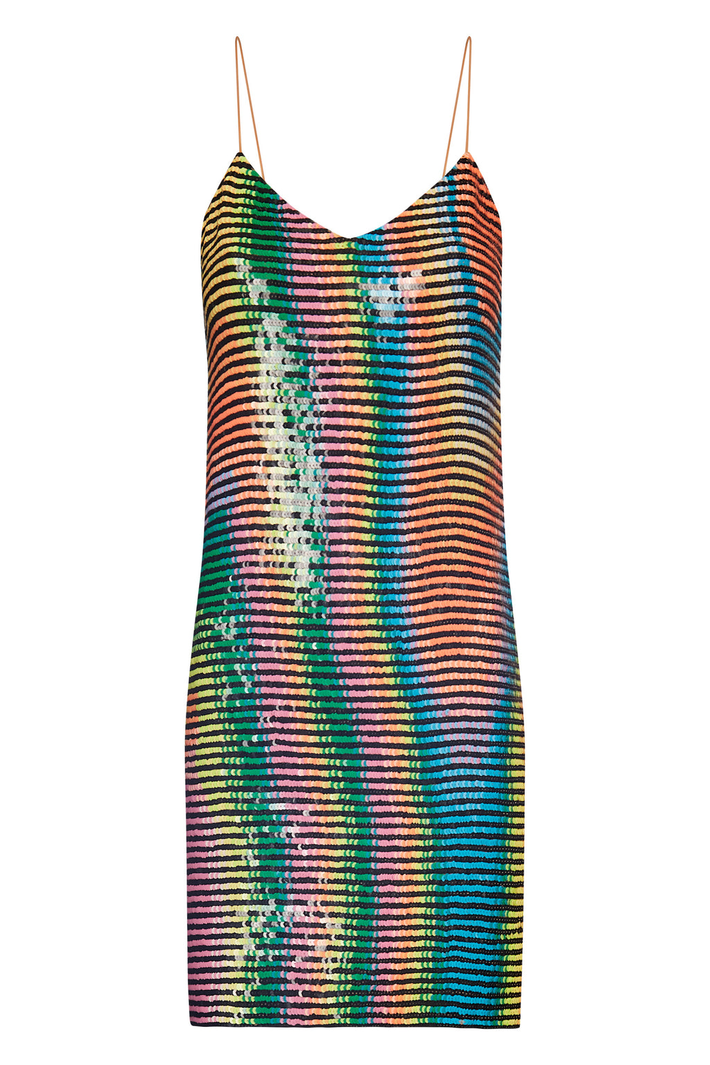 Sequin Mini Trippy Dress - Annie's Ibiza