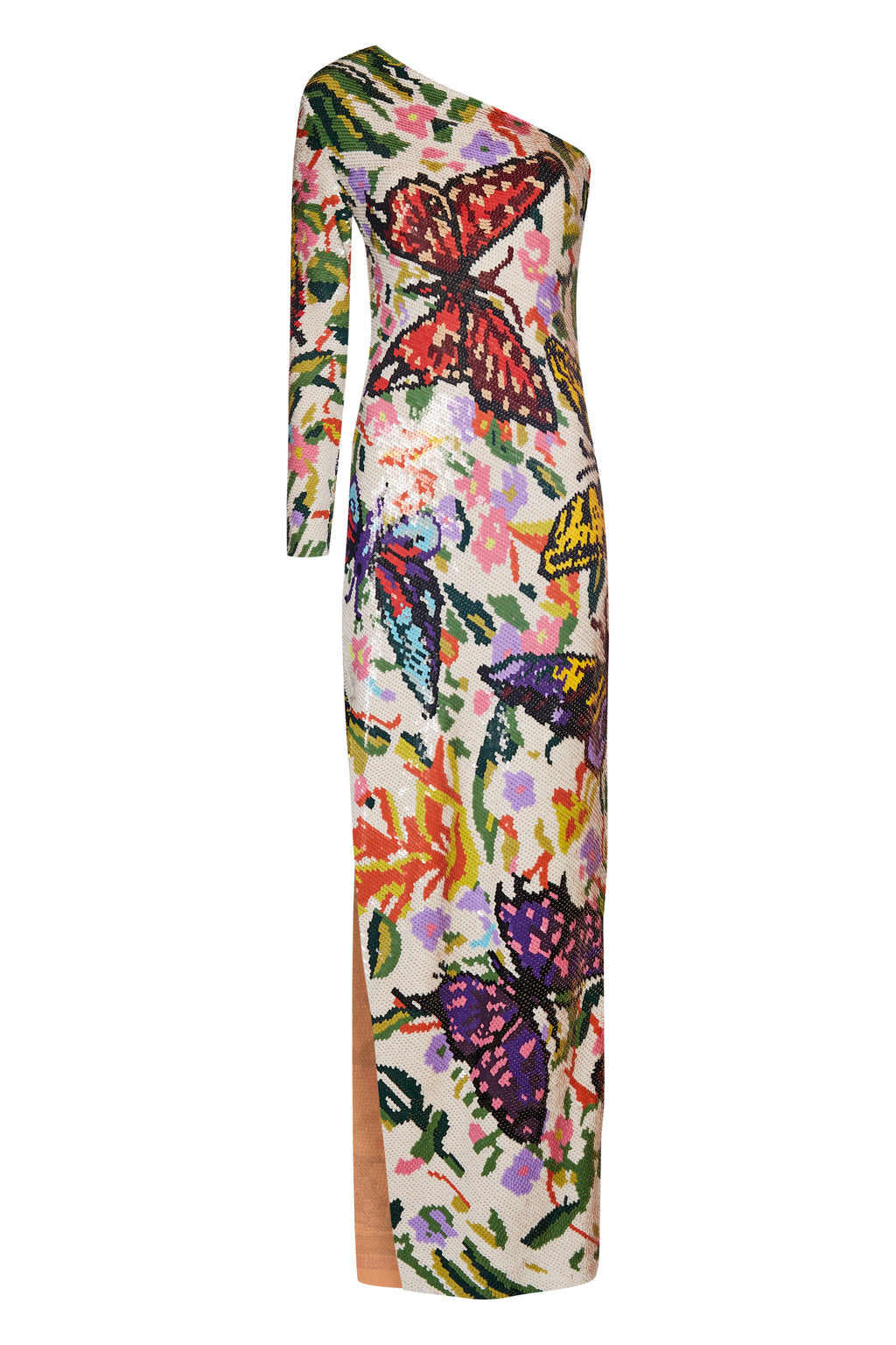 Long Sequin Butterfly Dress - Annie's Ibiza