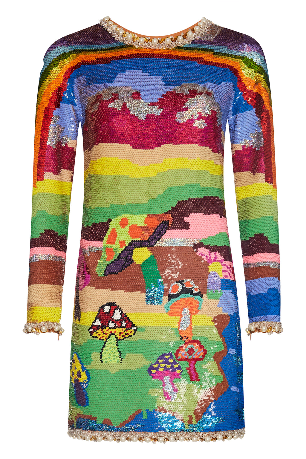 Rainbow Magic Mushroom Dress - Annie's Ibiza