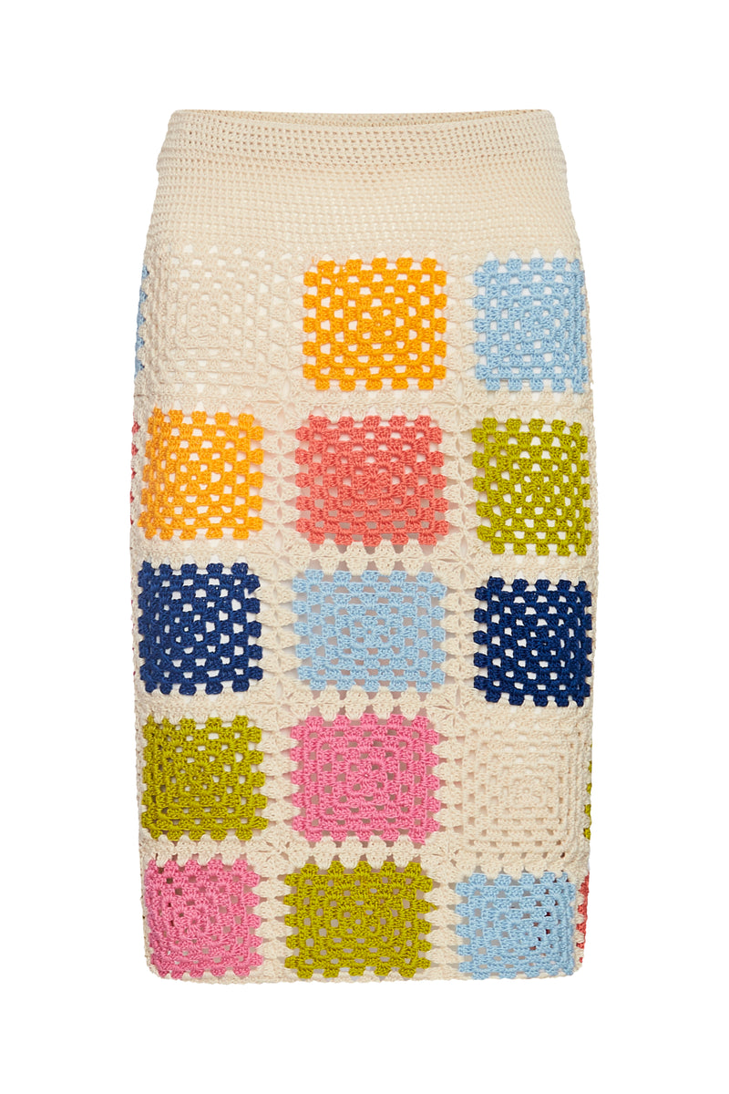 The Viridiana Skirt- Ice Lolly - Annie's Ibiza