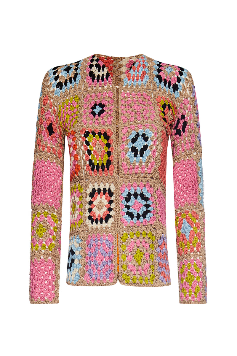The Marta Sweater- Patchwork - Annie's Ibiza