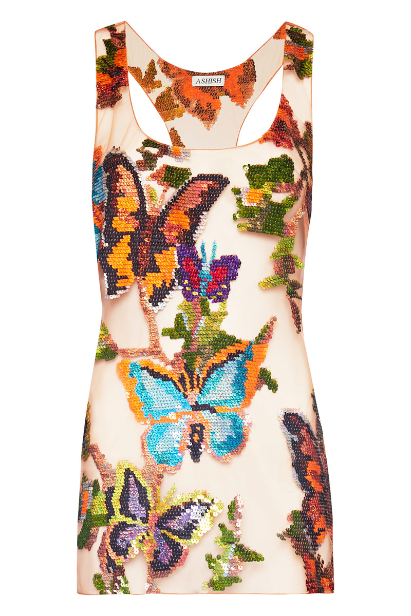 Butterfly Mesh Top - Annie's Ibiza