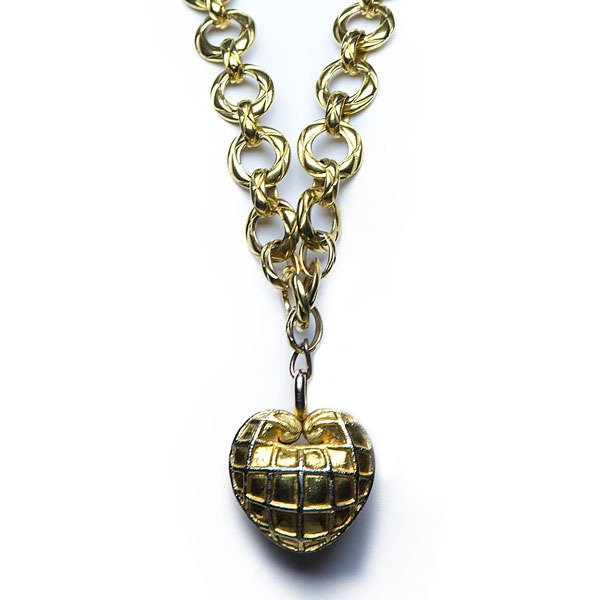80's Chanel Chunky Chain Necklace