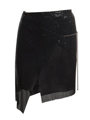 Winona Wrap Skirt Jet Black