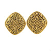 Vintage Chanel Aztec Earrings